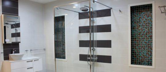 Installation d'une colonne de douche