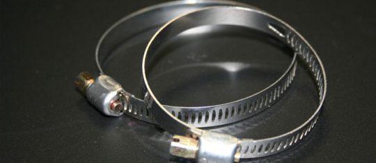 colliers de serrage en inox